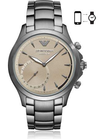 Emporio Armani Emporio Armani Connected Men's Hybrid Smartwatch