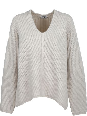 Acne Studios Acne Studio Knitted Cropped Sweater