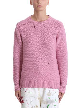 Golden Goose Pink Wool Sweater