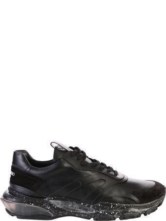 Valentino Garavani Black Bounce Sneakers
