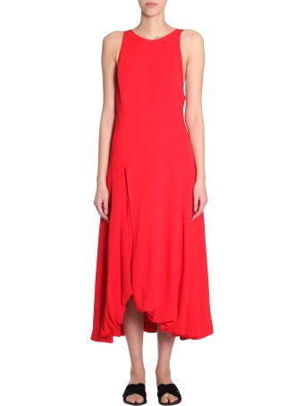 Midi Bubble-hem Dress