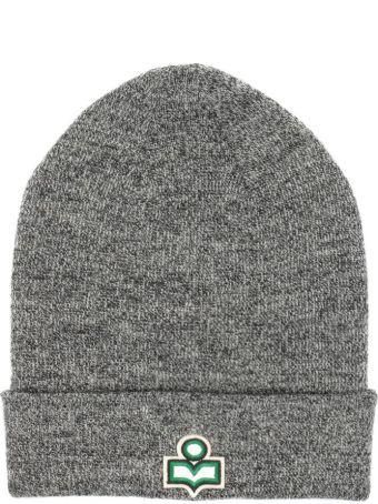 Isabel Marant Grey Wool Hart Beanie