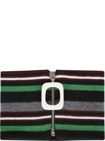 J.W. Anderson Striped Collar