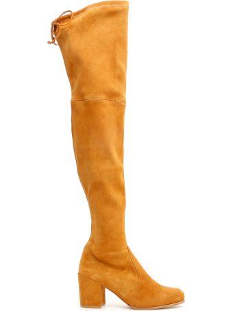 Stuart Weitzman Suede Tieland Boots