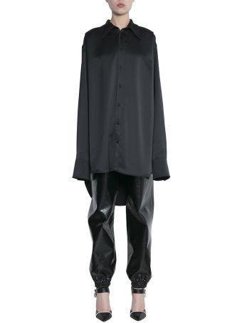 MSGM Satin Oversized Shirt
