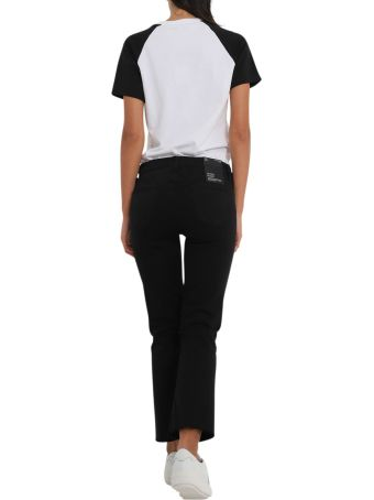 J Brand Bootcut Cropped Selena Jeans With Raw Hem