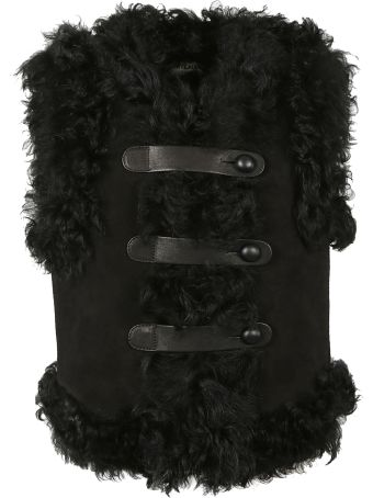 Saint Laurent Shearling Vest