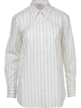 Celine Céline Pinstriped Shirt