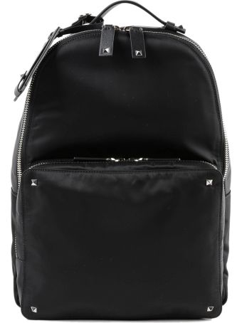Valentino Garavani Vltn Logo Strap Print Backpack