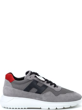 Hogan Interactive³ New Design Low Top Grey Sneakers