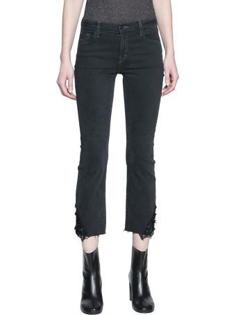 J Brand Hendrix Reign Denim Cotton Jeans