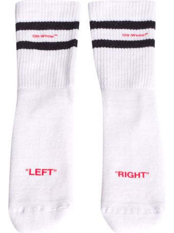 Off-White Reversed Sport Cotton Socks