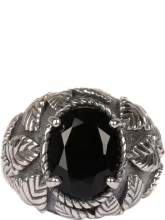 Ugo Cacciatori Romantic Leaves Silver Ring