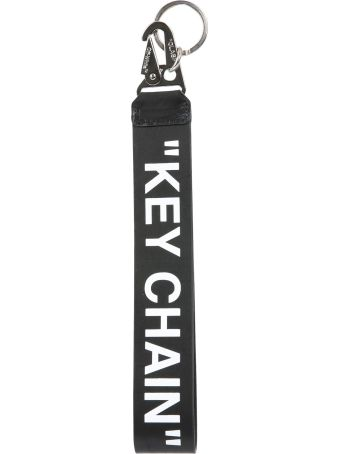 Off-White Quote Key Chain