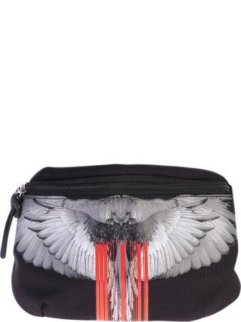 Marcelo Burlon Printed Canvas Belt Bag