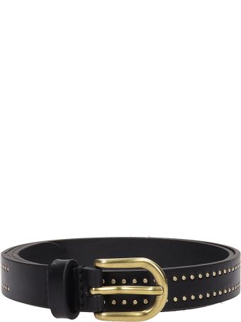 Isabel Marant Black Leather Detail