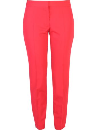 Stella McCartney Red Slim Trousers