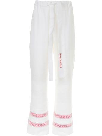 Logo Linen Trousers