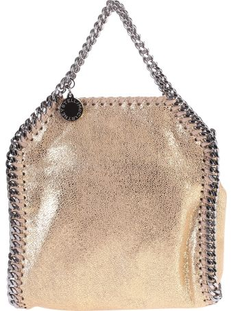 Faux Leather Falabella Tiny Shoulder Bag