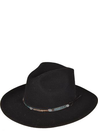 Jessie Western Embellished Detail Hat
