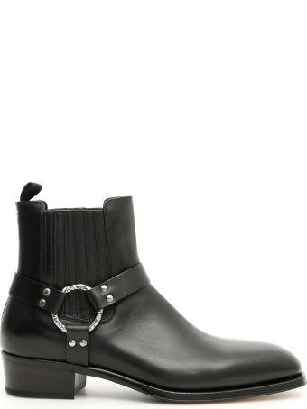 Alexander McQueen Leather Booties