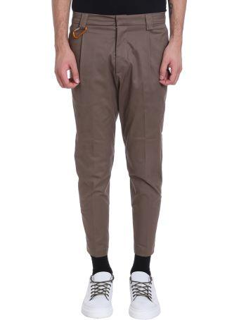 Low Brand Beige Cotton Pants