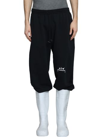 A-COLD-WALL Logo Cotton Sweatpants