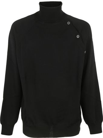 Lanvin Asymmetric Buttoning Sweater