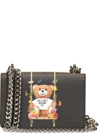 Moschino Botanical Teddy Shoulder Bag