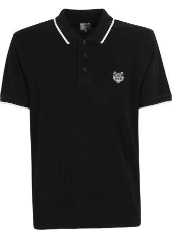 Kenzo Embroidered Tiger Polo Shirt