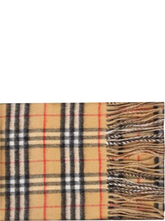 Burberry Multicolored Checked Scarf