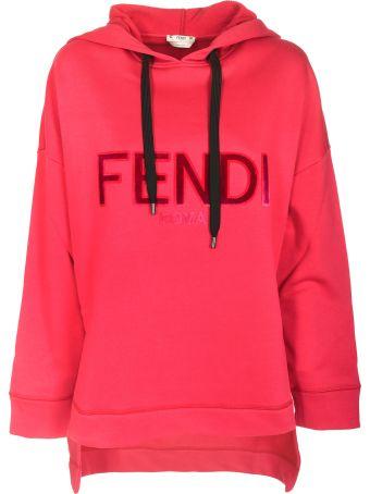 Fendi Front Logo Hoodie
