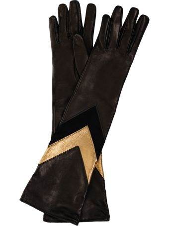 Alberta Ferretti Elbow Gloves