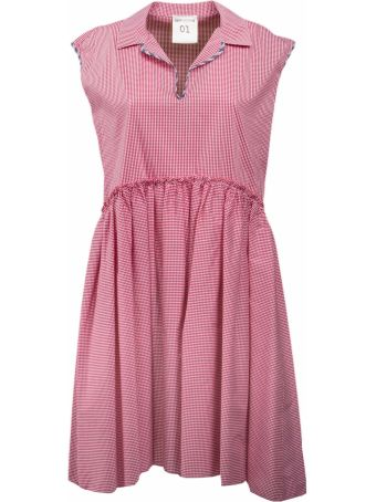 SEMICOUTURE Checked Dress