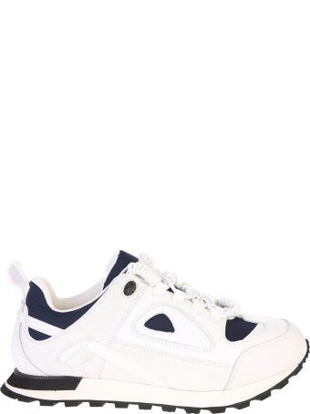 Maison Margiela White Lace Up Sneakers