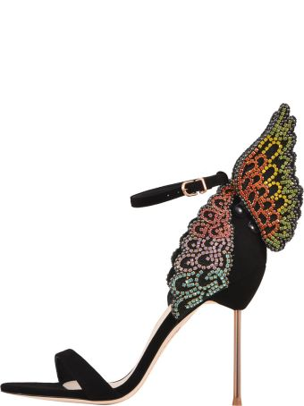 Sophia Webster Evangeline Crystal Sandals