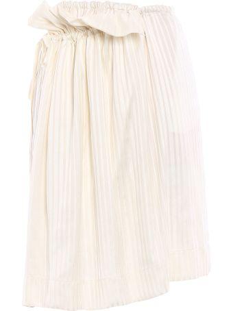 Stella McCartney Skirt Silk Stripes Shirting