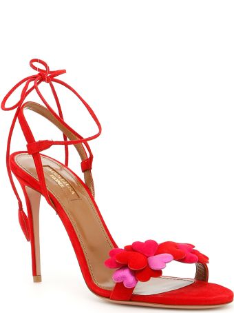 Aquazzura Happy Hearts Sandals