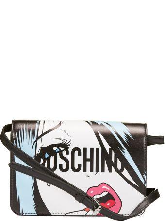 Moschino Portrait Shoulder Bag
