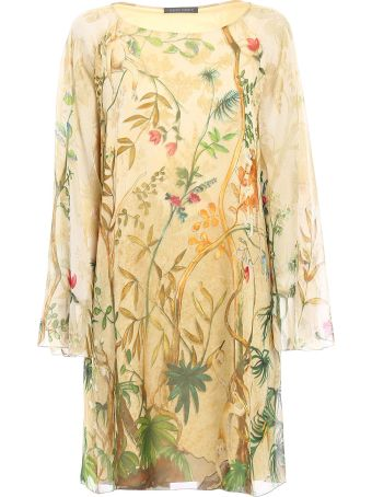 Alberta Ferretti Floral Dress