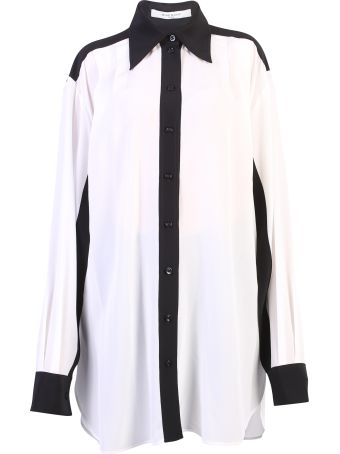 Givenchy White Contrast Piping Shirt
