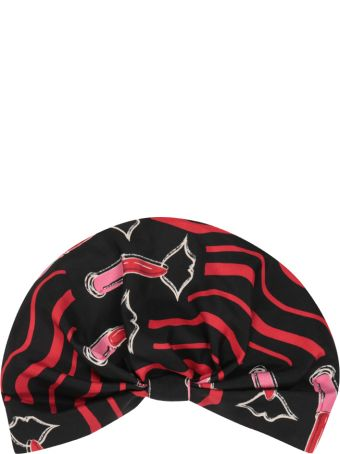 Valentino Garavani Lipstick Silk Turban