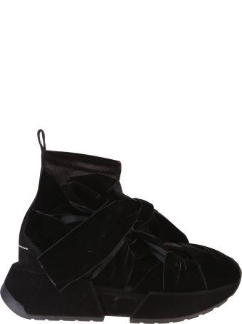 MM6 Maison Margiela Black Ribbon Sneakers