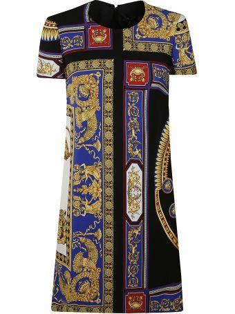 Versace The Lovers Print Shift Dress