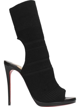 Christian Louboutin Cheminene 120 Sock Ankle Boots