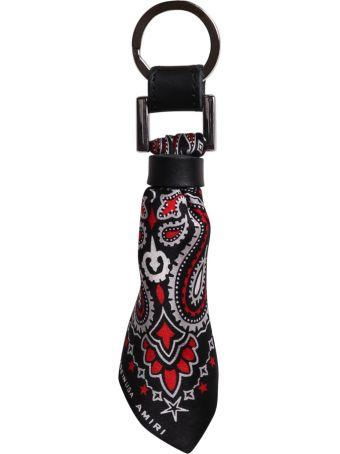 AMIRI Bandana Silk Key Chain