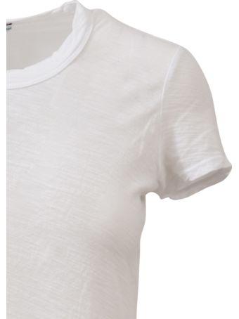 James Perse Crewneck T-shirt White