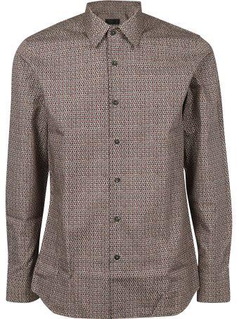 Prada Micro Print Shirt