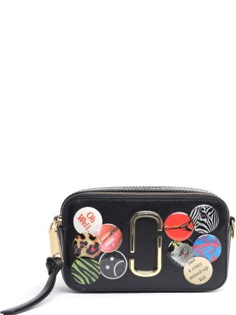 Marc Jacobs Snapshot Badge Saffiano-leather Camera Bag