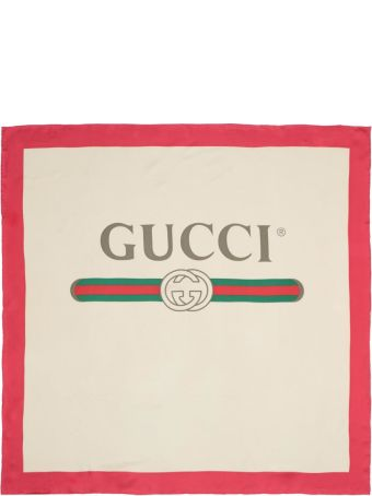 Gucci Gucci Print Scarf
